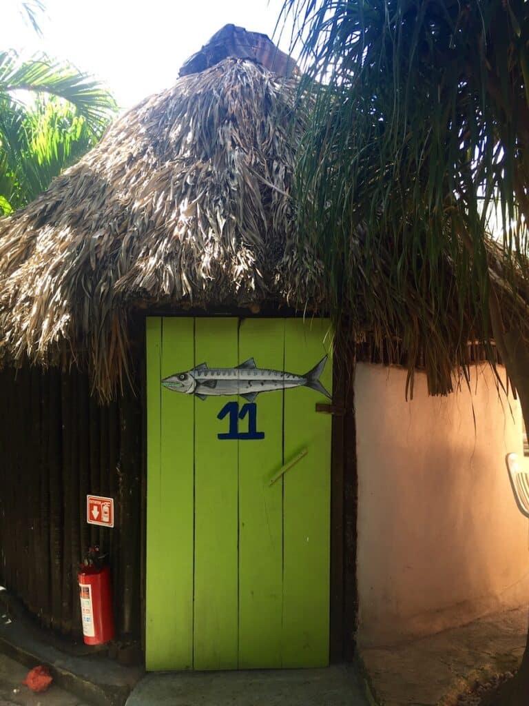 Onze slaapplek in Tulum