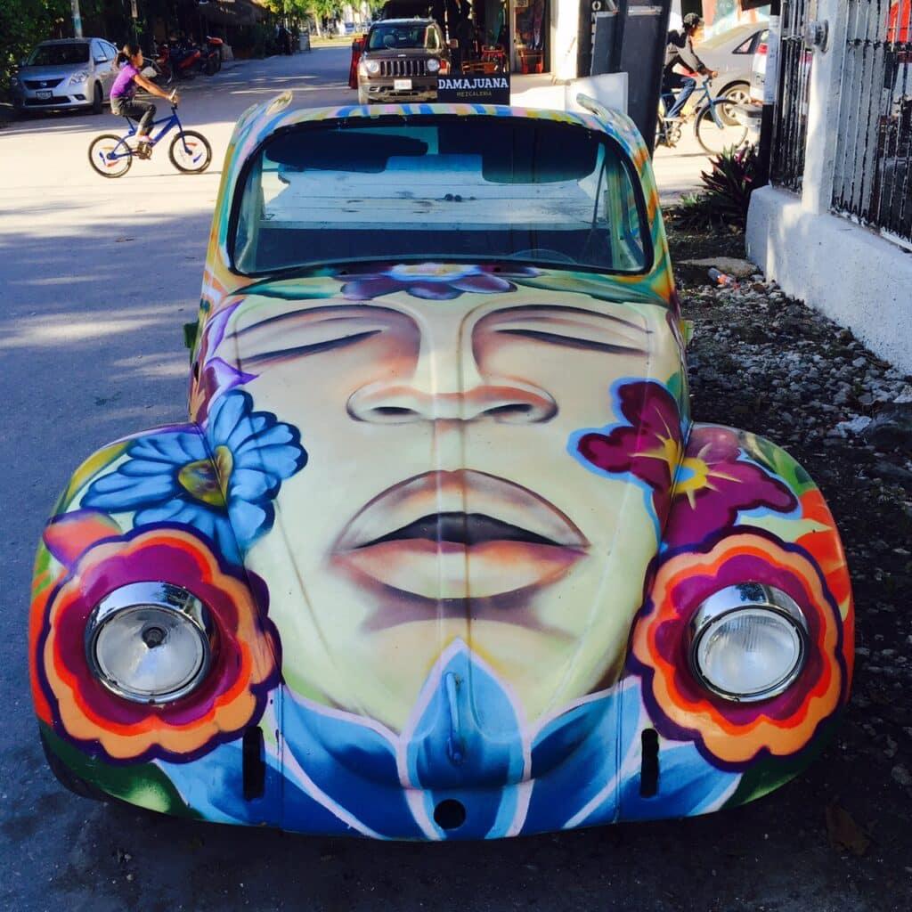 Tulum car