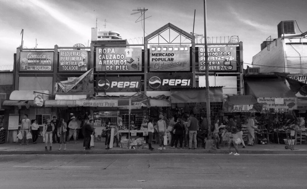 Gelukkig... Toch een markt in Chihuahua