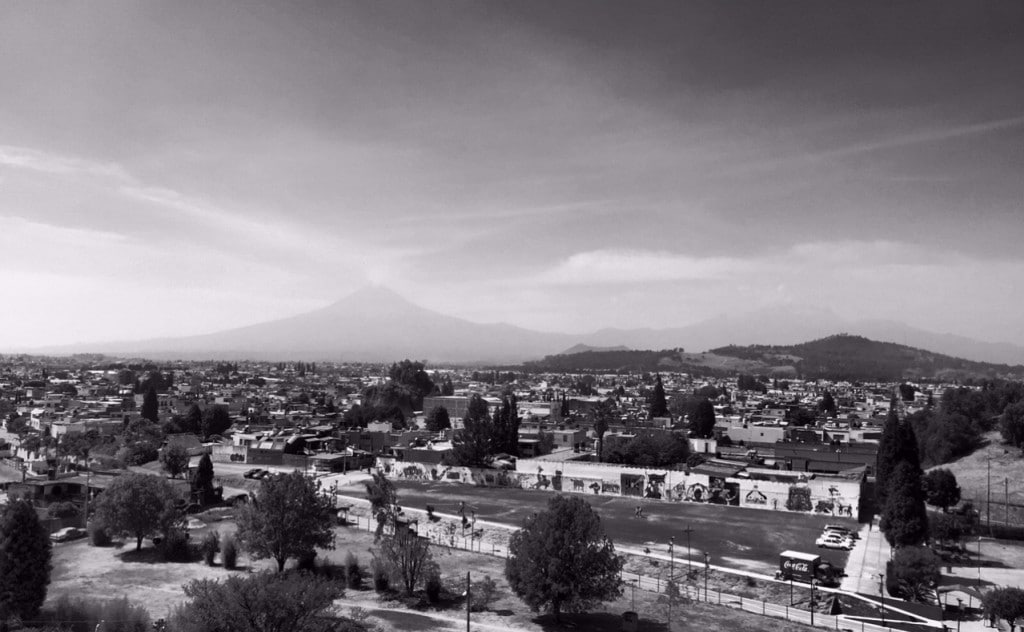 Popocatepetl view