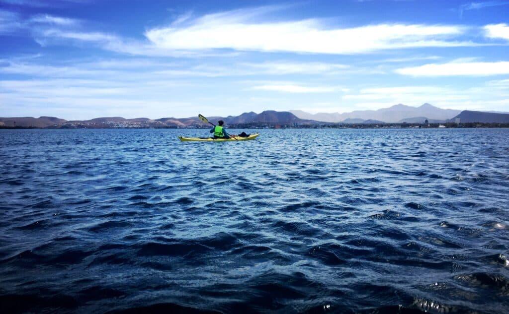 La Paz kayak - de reizigers