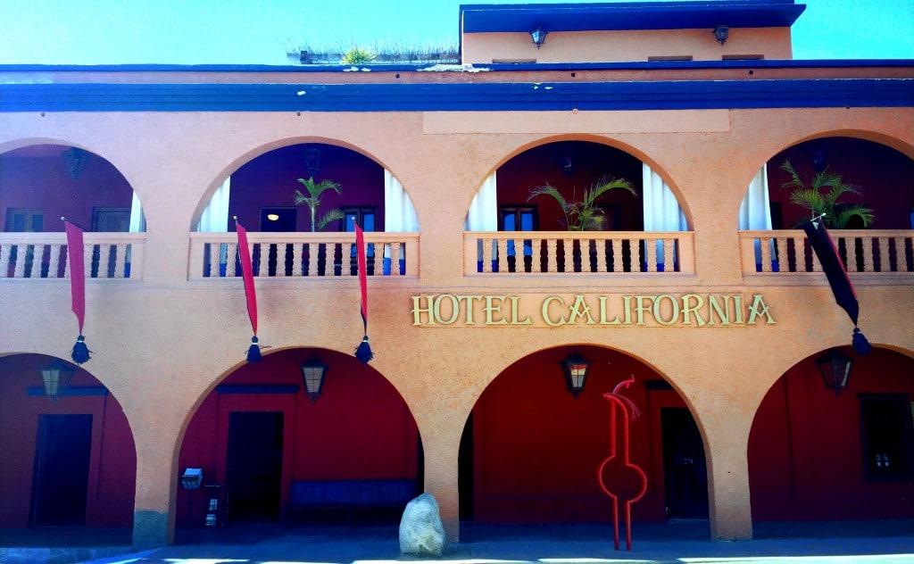 Todos Santos Hotel California - de reizigers