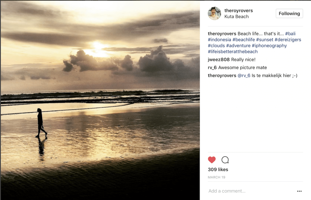 Instagram Kuta Beach