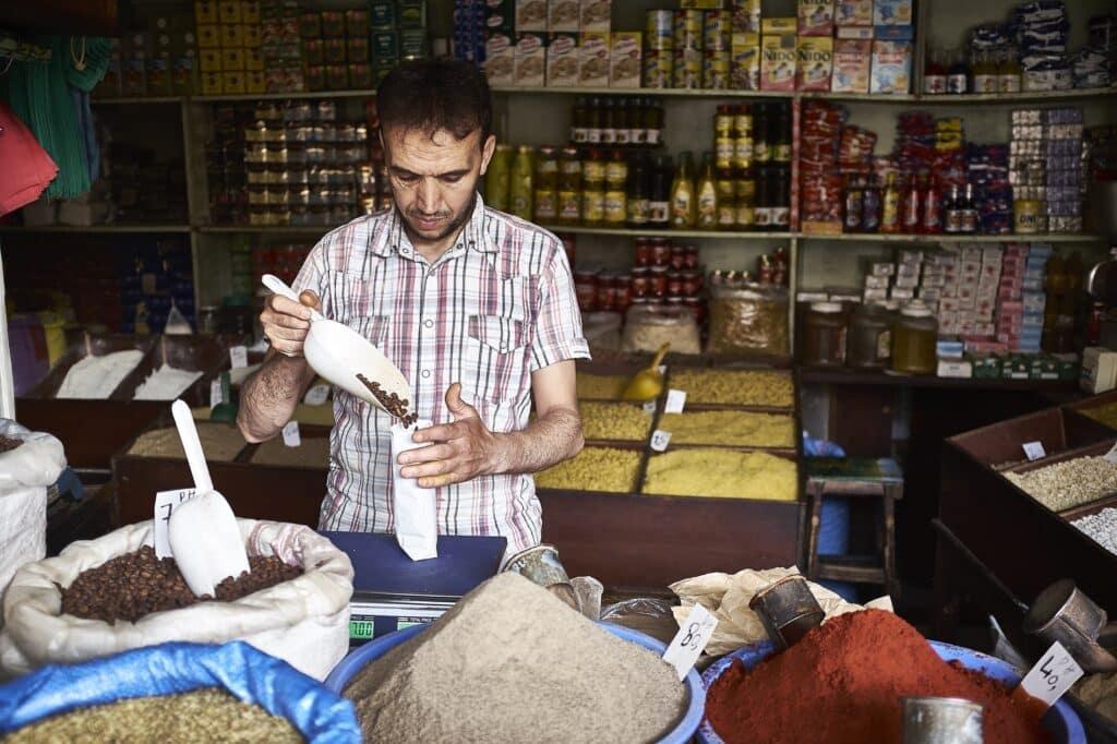 Marrakech is de stad van de kruiden, maar dus ook van de koffie - Marokko - De Reizigers - Marrakech -4