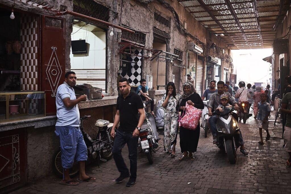 De gezellige drukte in de medina - Marokko - De Reizigers - Marrakech -5