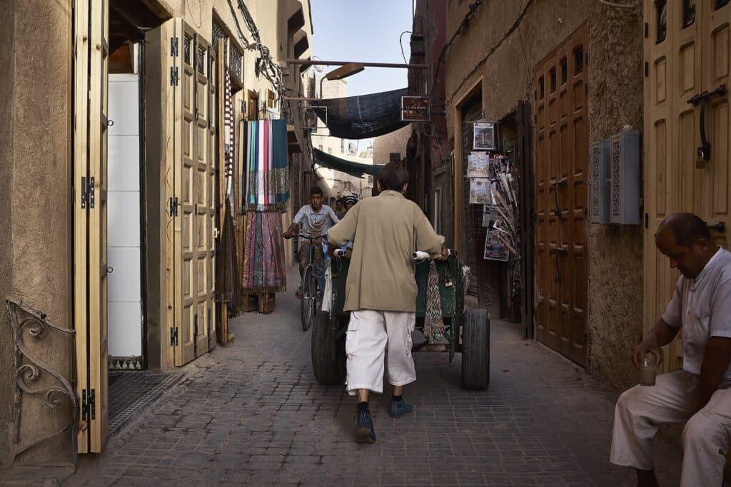 Eén kar en één fiets en dan hield het echt wel op - Marokko - De Reizigers - Marrakech -7