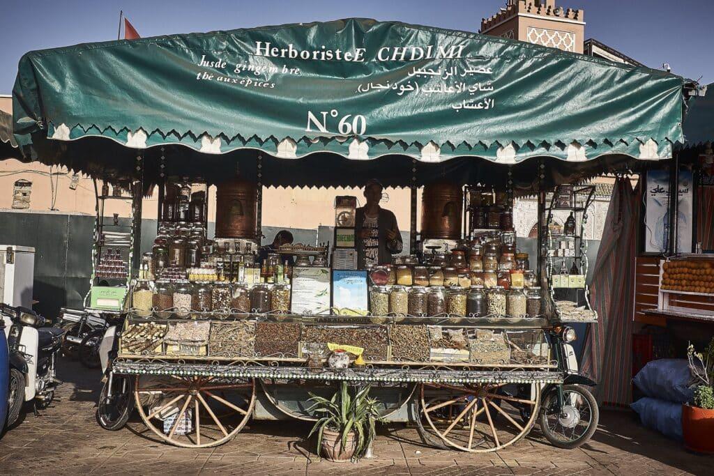 Marokko - De Reizigers - Djemaa el-Fna -3