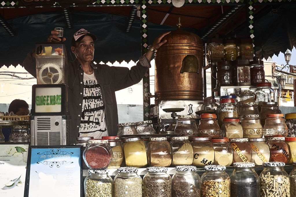 Marokko - De Reizigers - Djemaa el-Fna -4
