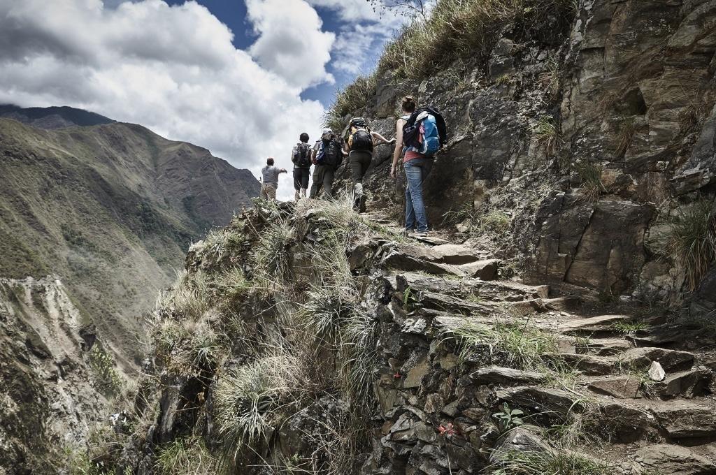 Vlakbij een heilige plek voor de Inca's