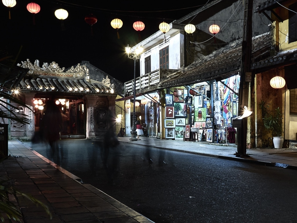 De straatjes van Hoi An