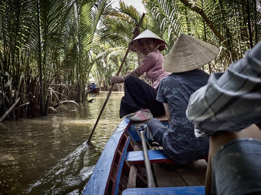Leuk tochtje over de Mekong Delta