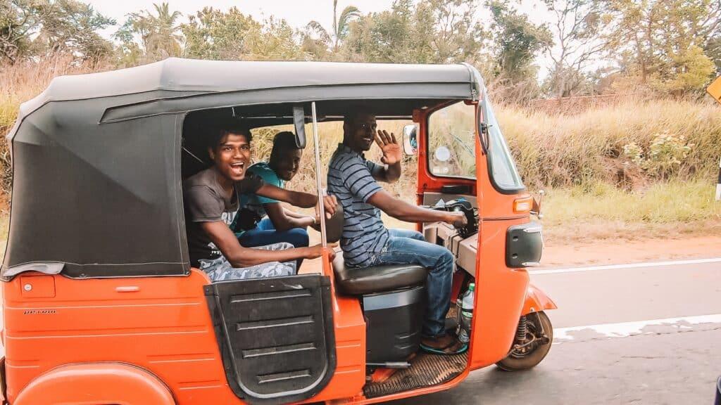 De Reizigers - Sri Lanka - TukTuk huren-1