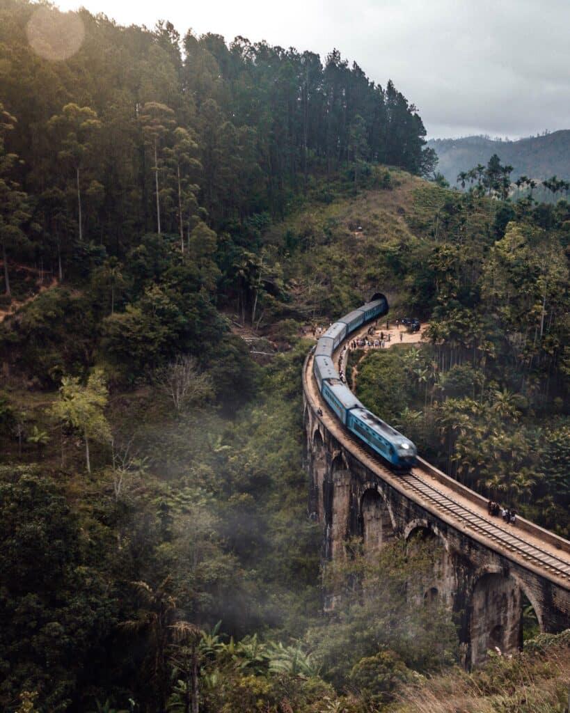 De Reizigers Sri Lanka Trein 9 arch bridge