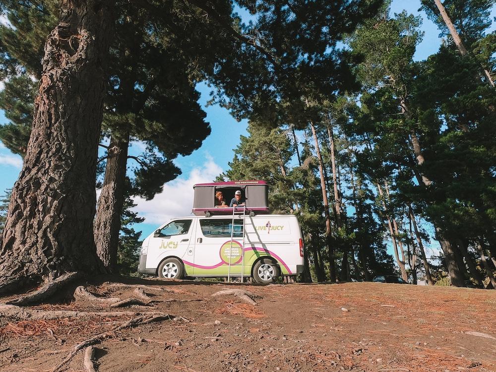 De Reizigers freedom camping Nieuw-Zeeland