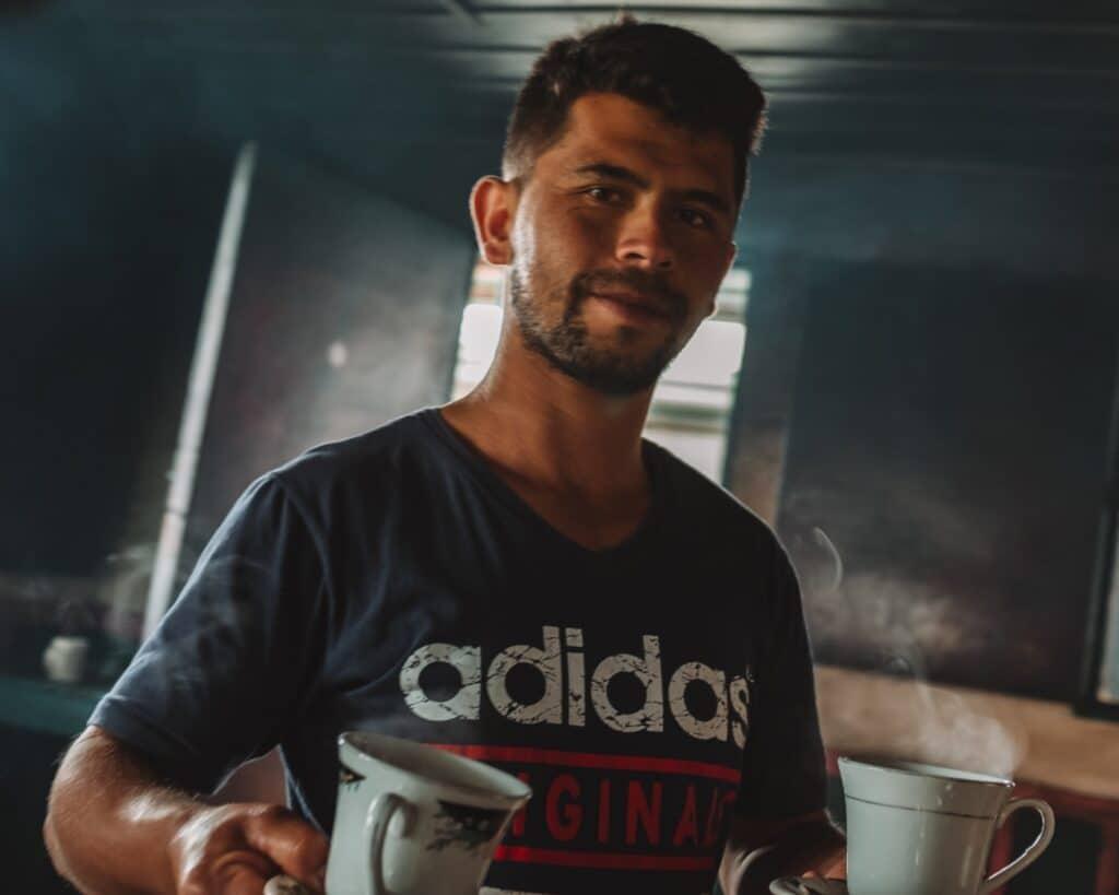 Koffie in Valle de Cocora