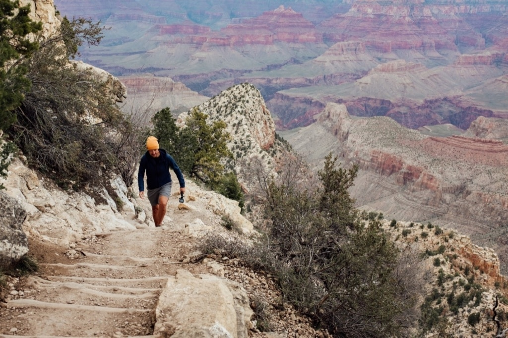 Hiken in de grand Canyon