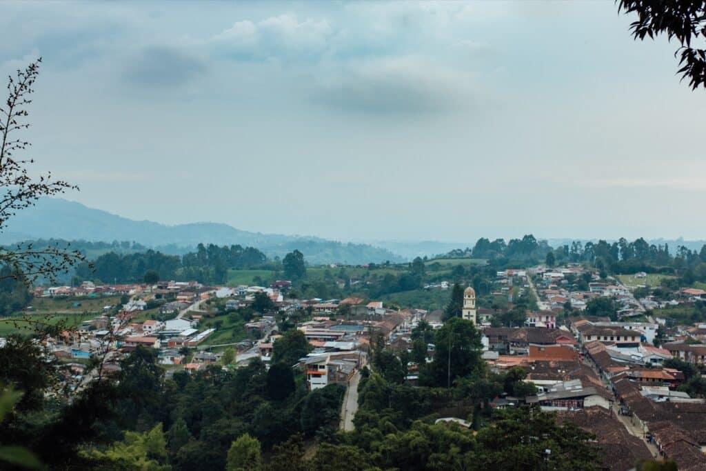 Het hele dorp Salento