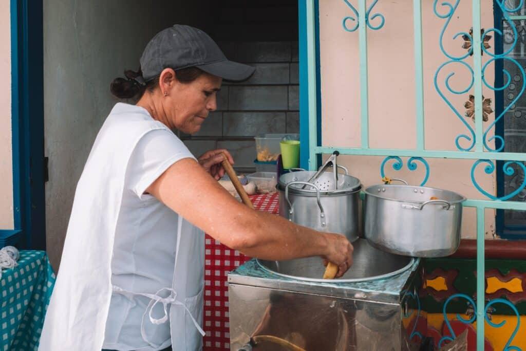 Street food Guatape
