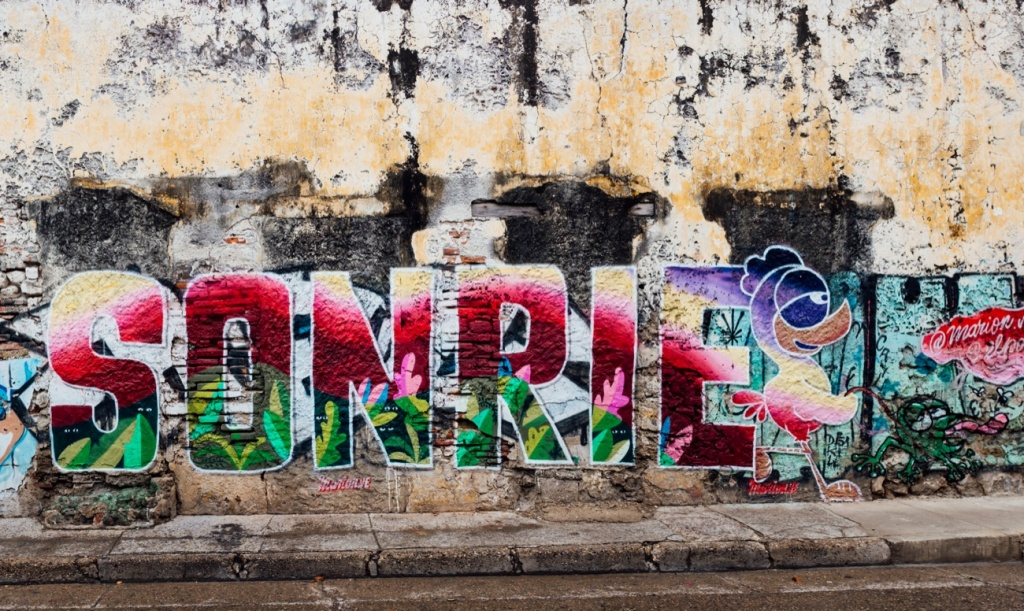 Cartagena Colombia Street Art