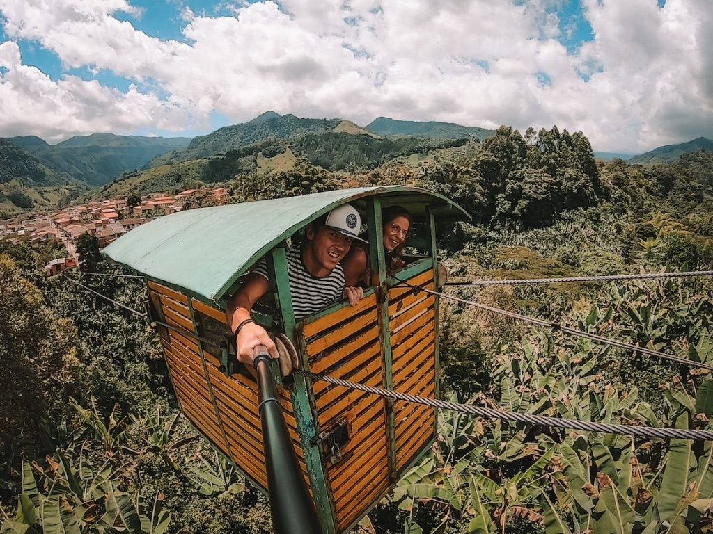 Kabelbaan Jardin Colombia