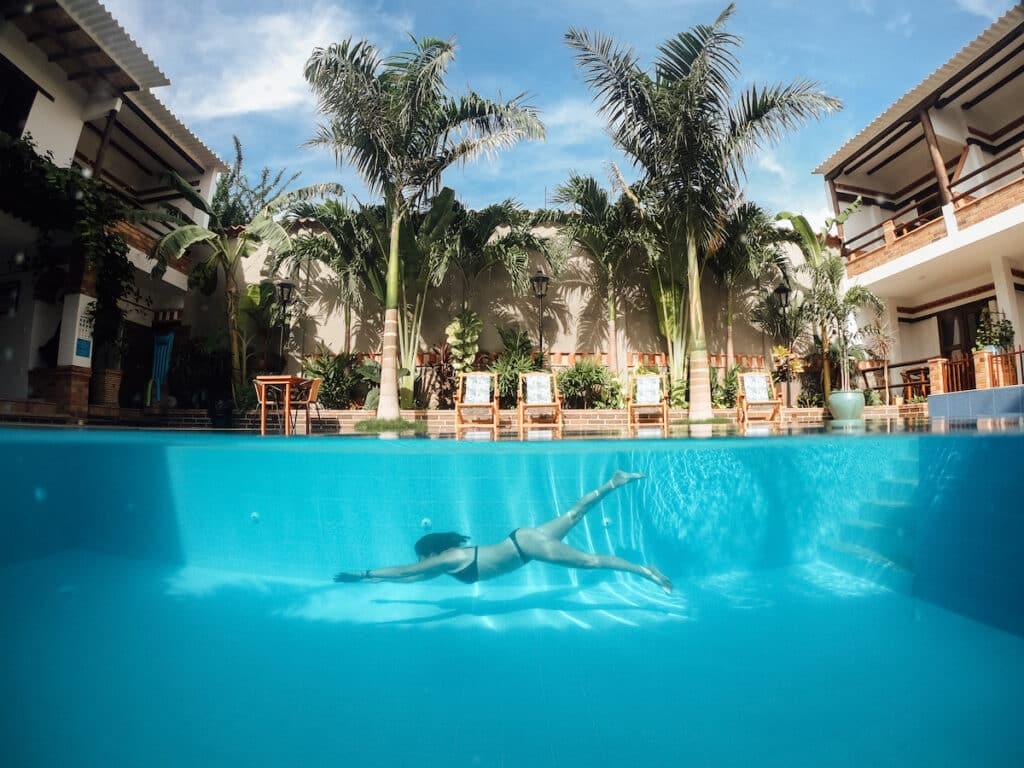 Santa Marta Colombia zwembad