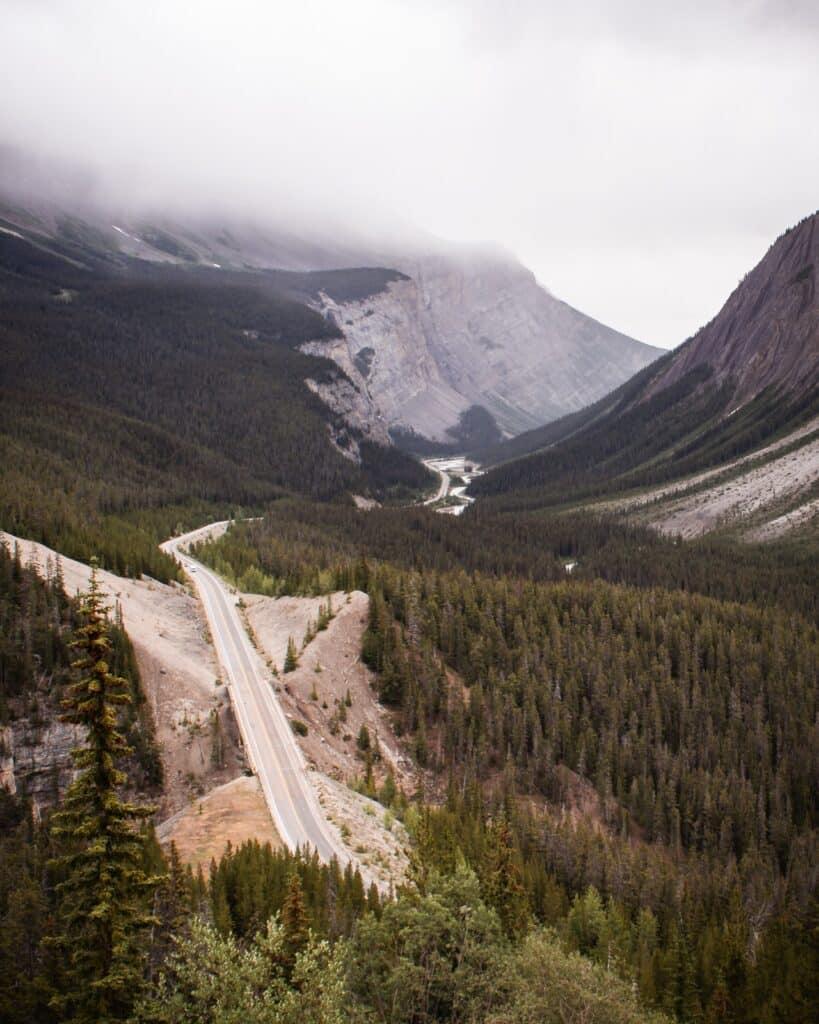 Banff-Jasper scenic route