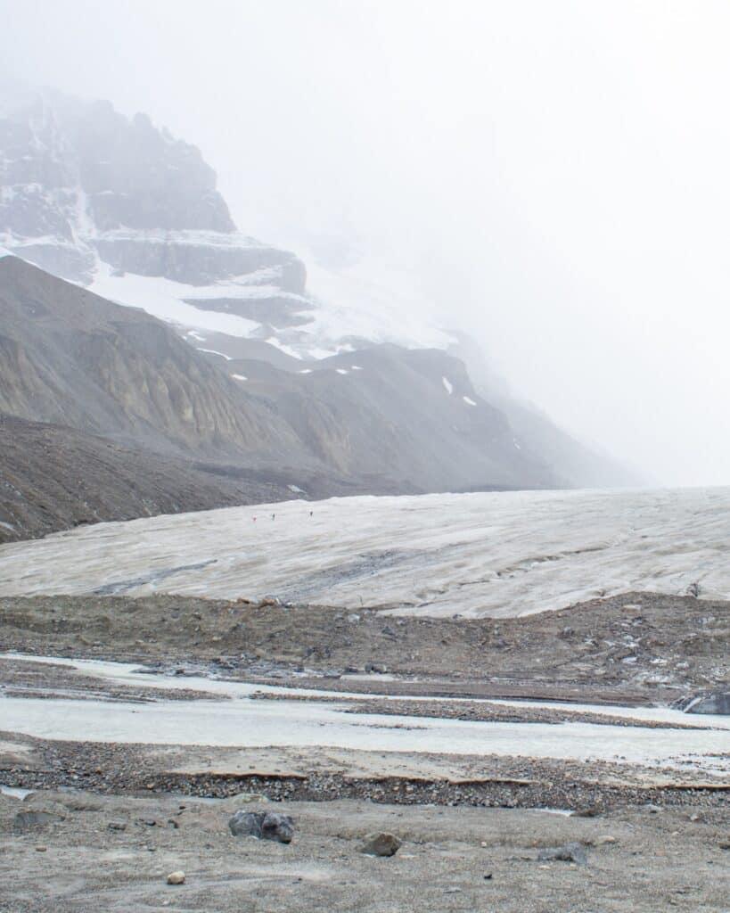 Colombia Icefields gletsjer