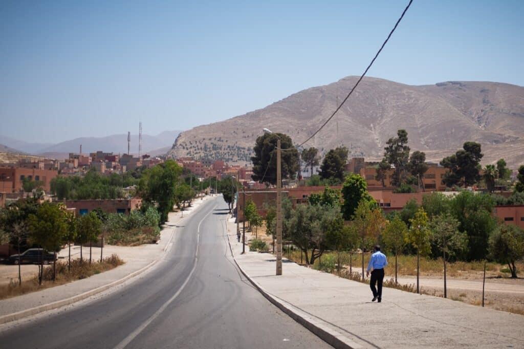 Marokko dorp
