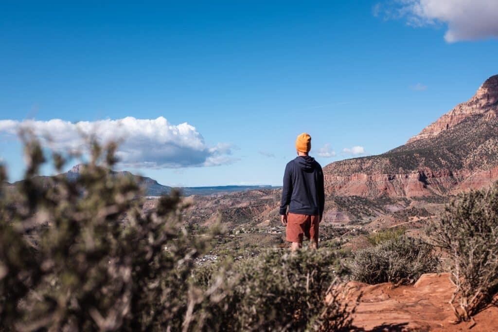 Zion National Park Watchman Trail