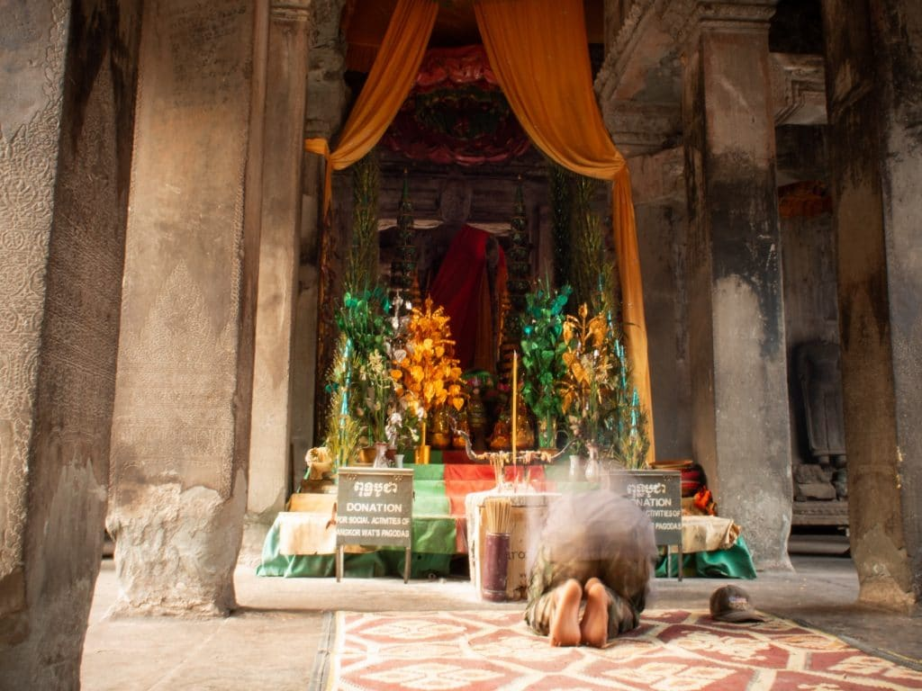 De Reizigers - Gebed
