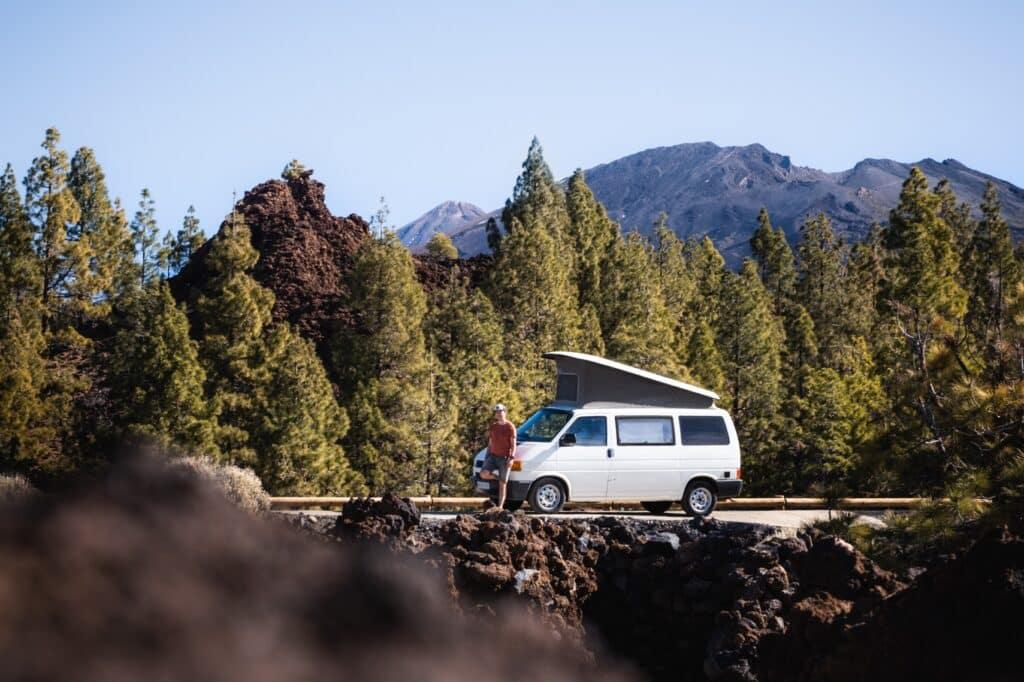 De Reizigers El Teide National park Camper