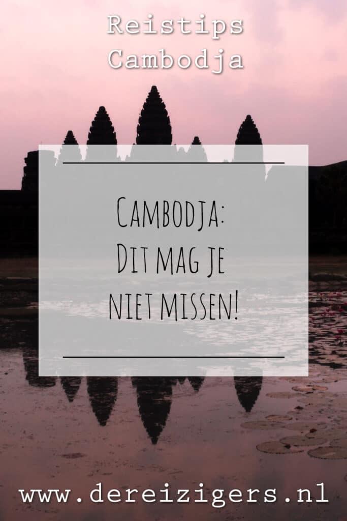 Reistips Cambodja