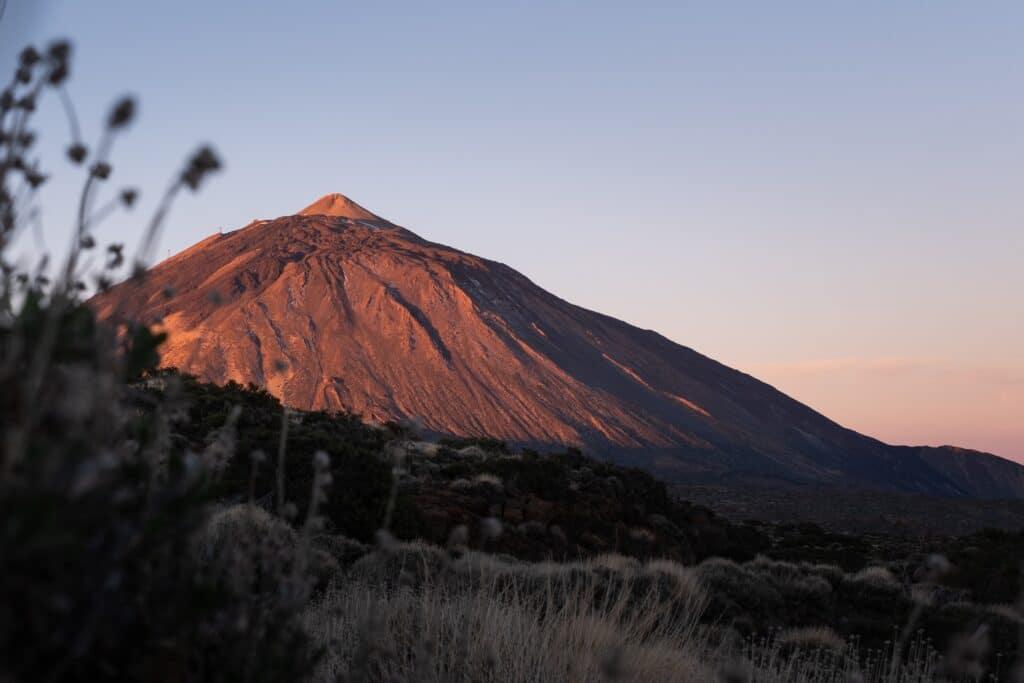 De Reizigers Tenerife zonsopkomst El Teide