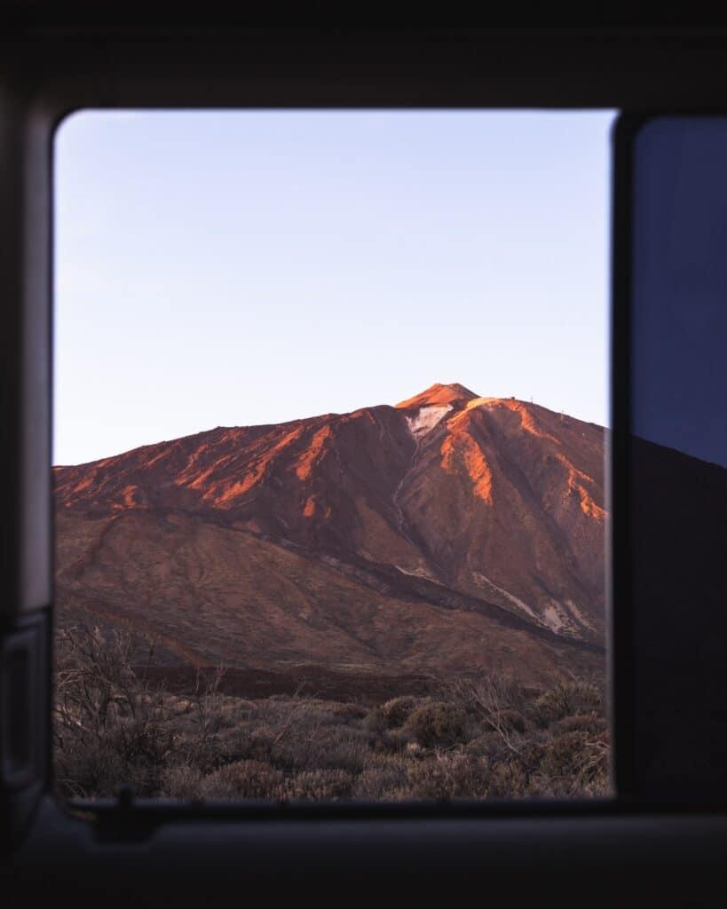 De Reizigers view El Teide