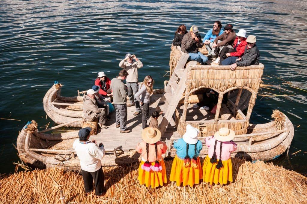 De Reizigers Lake Titicaca boot