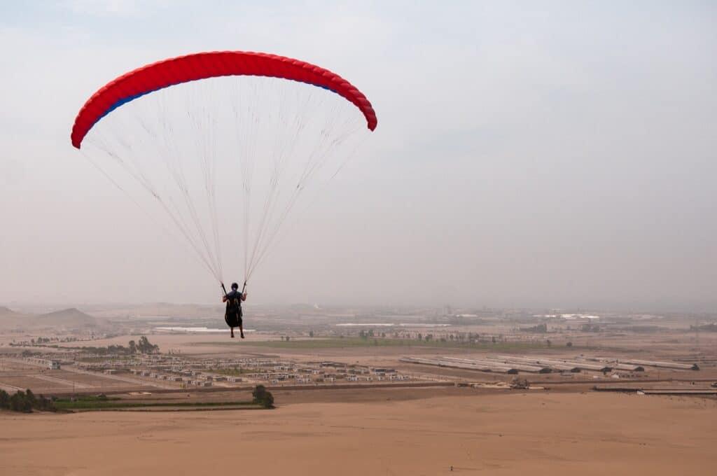 De Reizigers Lima paraglide