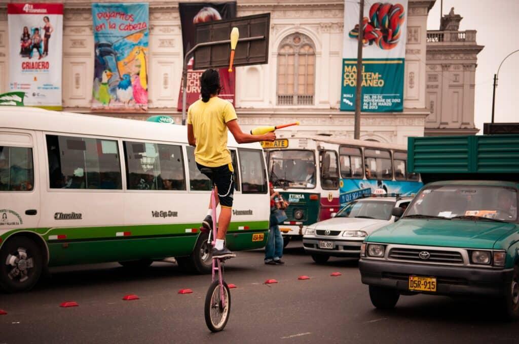 De Reizigers Lima straatartiest