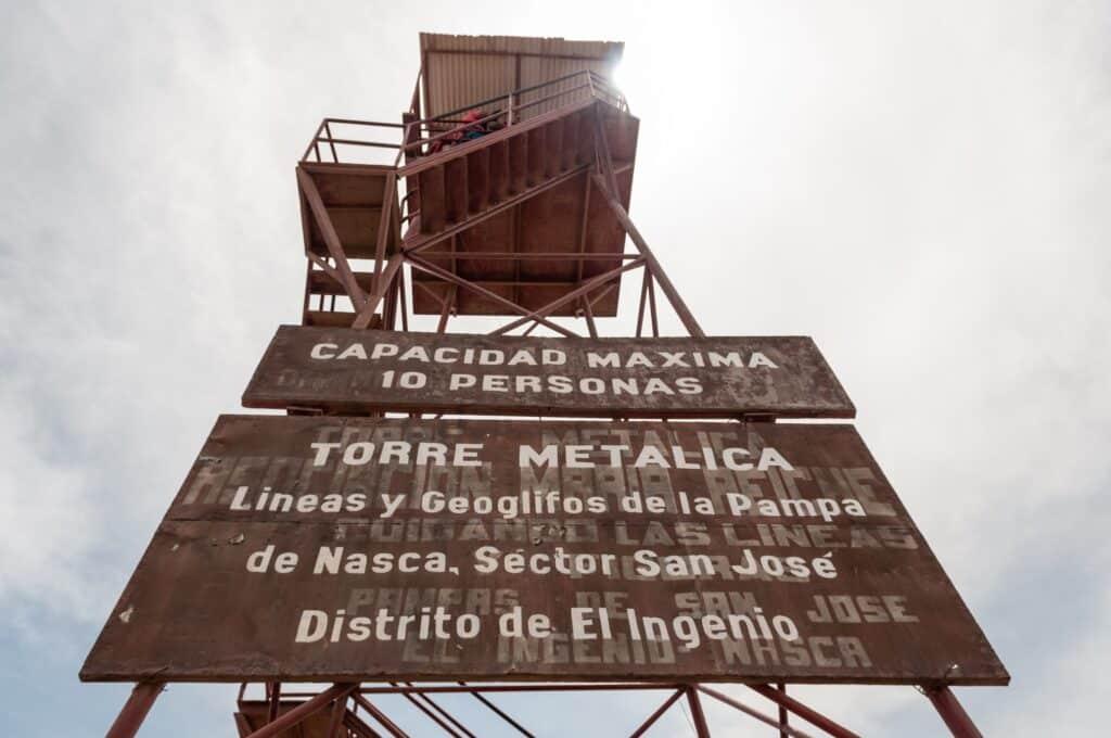 De Reizigers Nazca toren