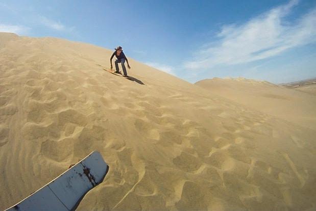 De Reizigers Sandboard Nazca