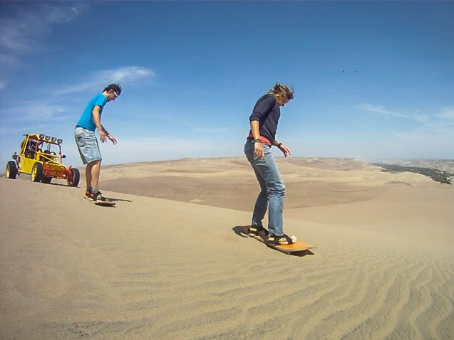 De Reizigers Sandboard buggy Nazca