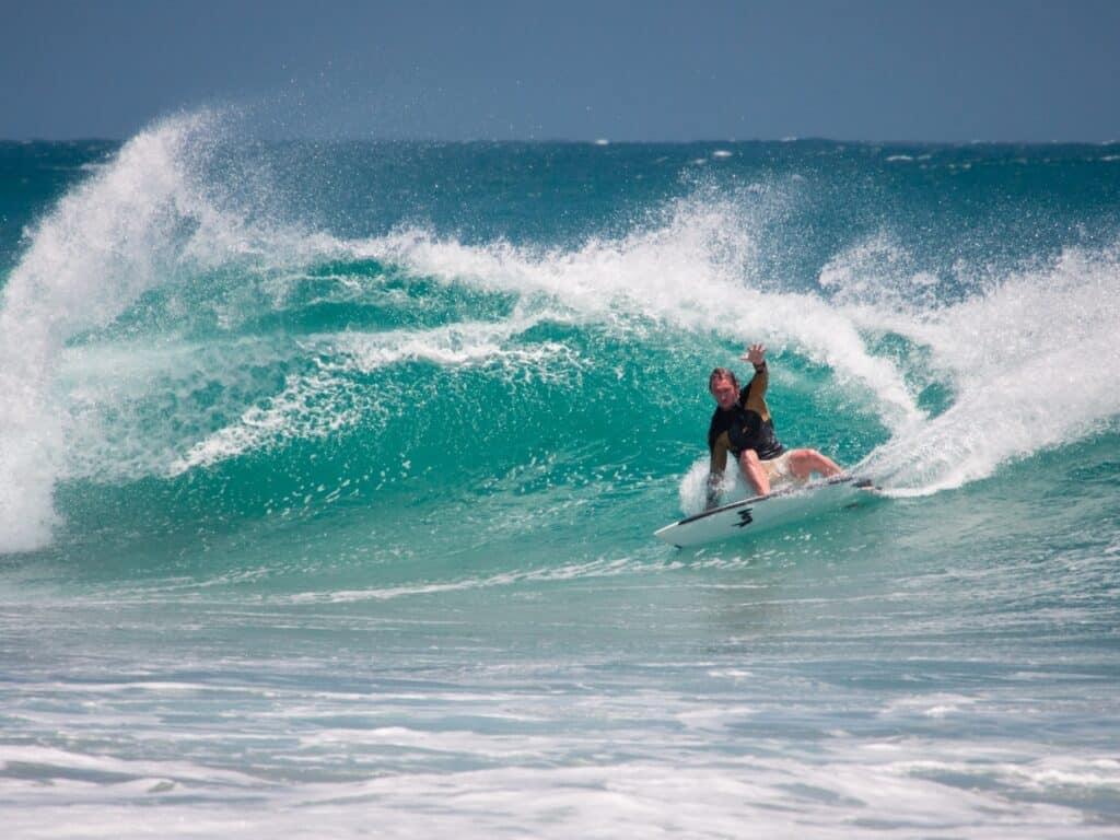 West-Australië surfer