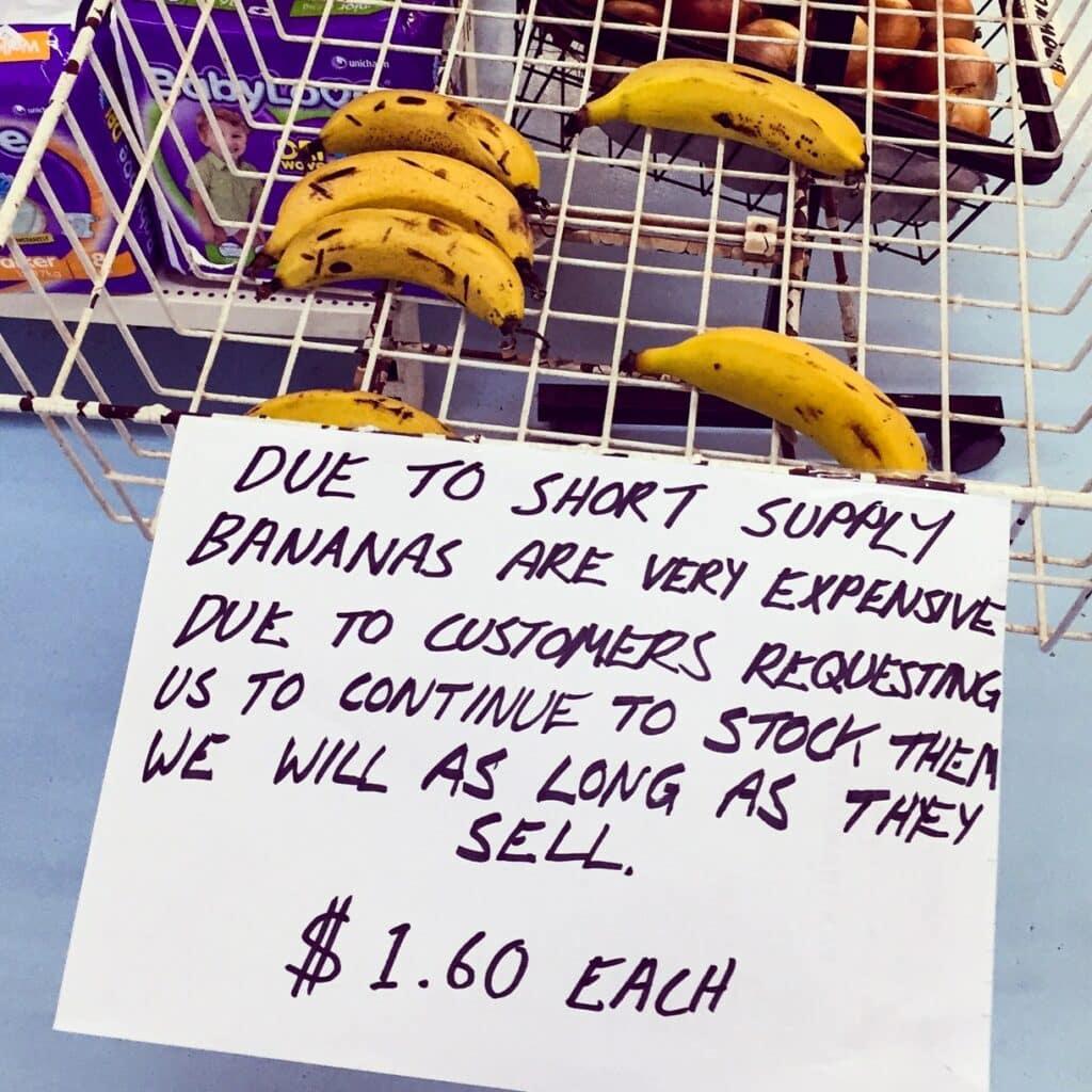 West-Australië bananen