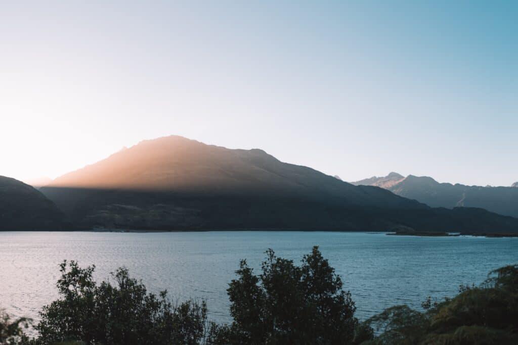 De Reizigers Nieuw-Zeeland sunset