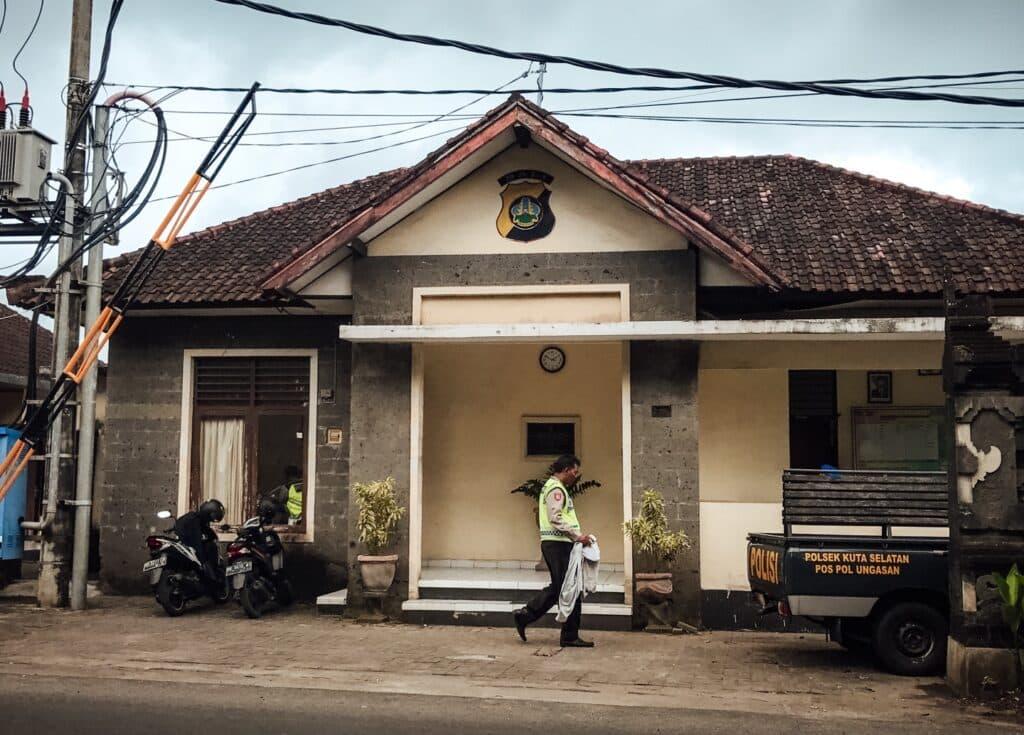 De Reizigers politiebureau Bali