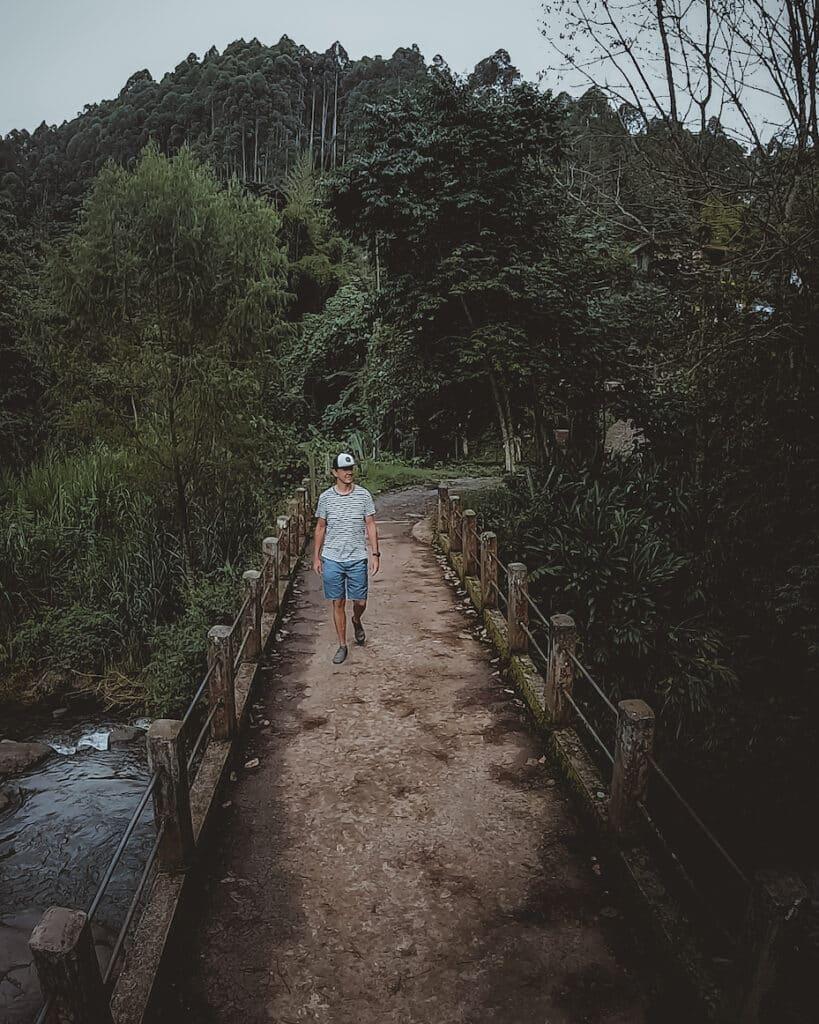 Colombia Jardin Brug - De Reizigers