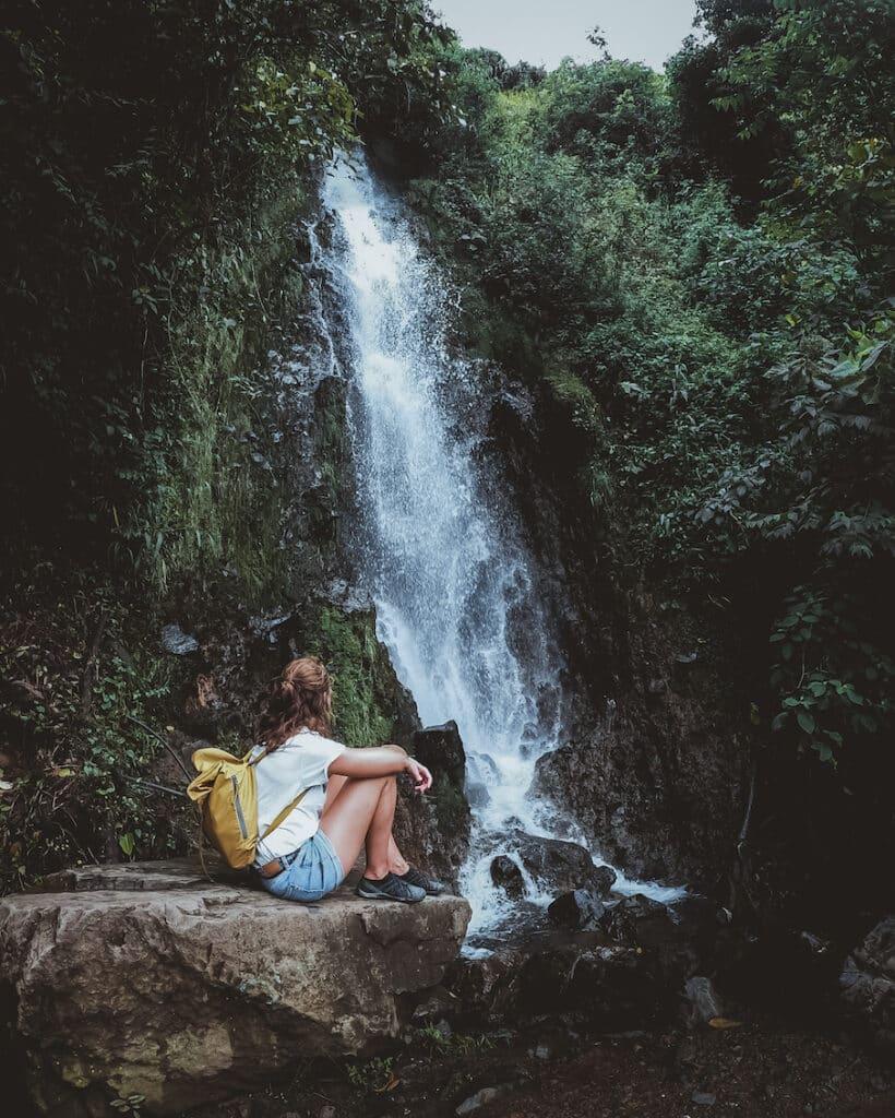 Colombia Jardin waterval - De Reizigers
