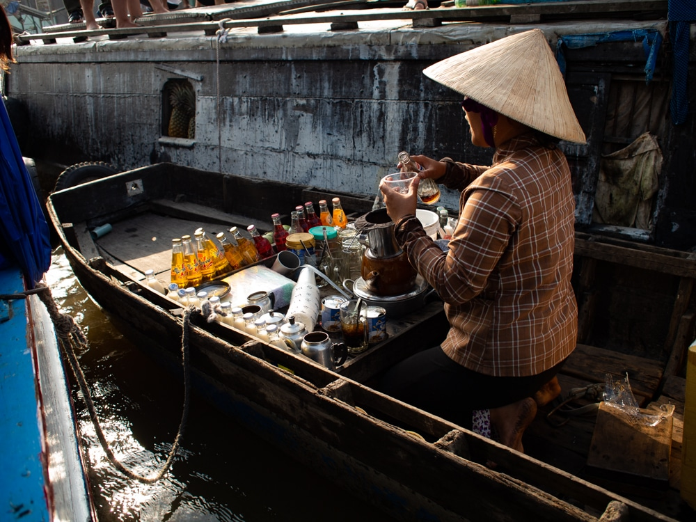 Hoe overleef je 24 uur in Vietnam - koffie