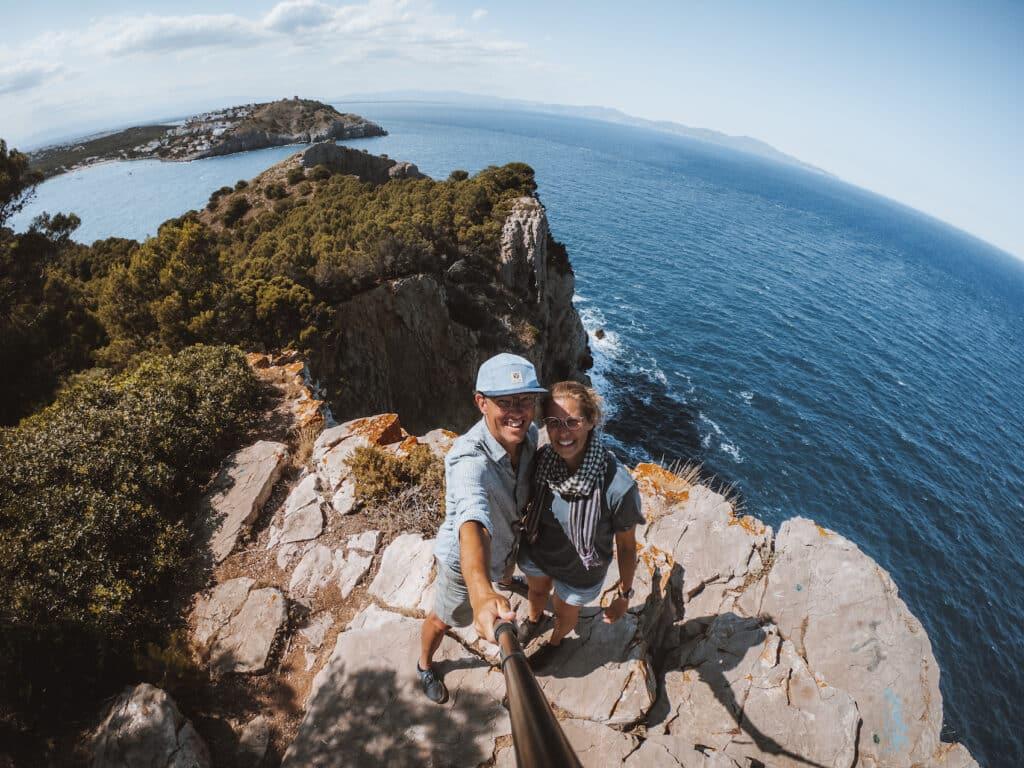 De Reizigers - Punta Ventosa - hike - Costa Brava - Spanje
